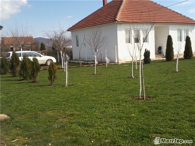Shitet shtëpia në Llazarevë, me sipërfaqe 100m2 me 10 ari truall
