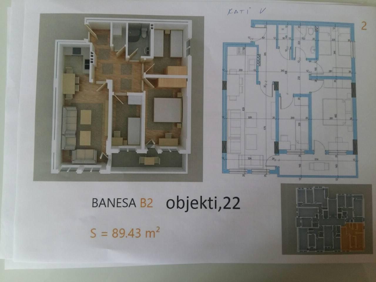 Shiten disa banesa në fushë Kosovë mbrapa Vivës së Vjetër