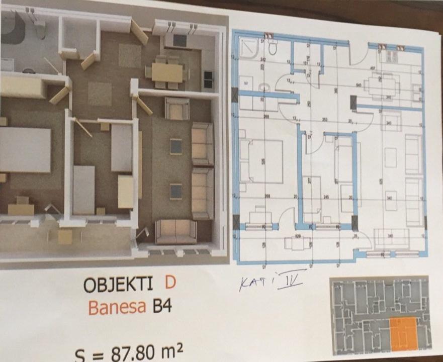 Shiten banesa më sipërfaqe të ndryshme në Fushë Kosovë