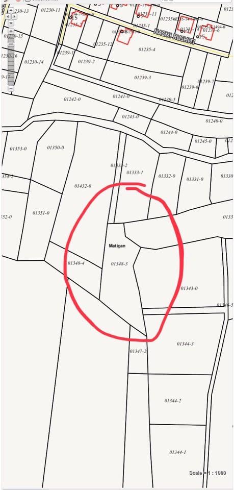Shitet 20 Ari Truall në lagjen Mati 1 Prishtina e Re Lindore