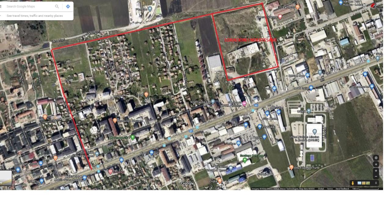 Shitet banesa 4 dhomshe 123m2 kati 7 Fushë Kosovë